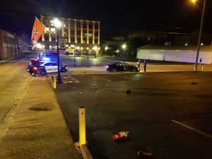 Bristol, Tennessee Police Cruiser Suffers Significant damage