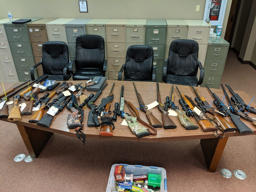 Recovered Weapons